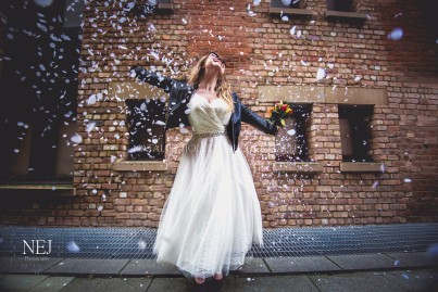 Rock and Roll Wedding, Gloucester Docks- Image by Natalie Jolley For SJP Bridal 20 wm